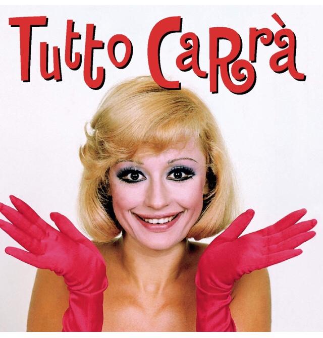 Raffaella Carra. Hola Raffaella.
